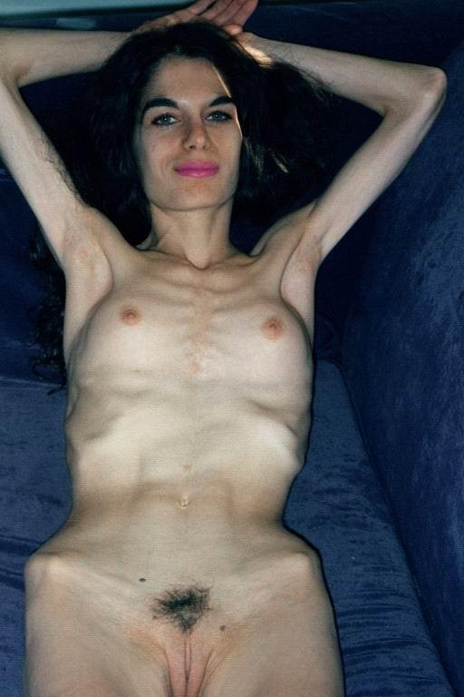 skinny nude