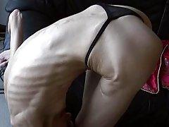Beautiful Skinny Gymnast Ballerina Inna Flexibility